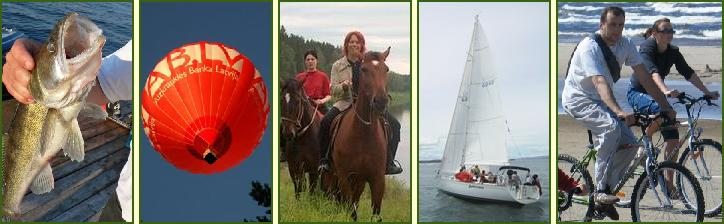 jurmala open air fishing yacht baloon horses bikes bicycles
